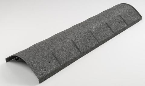 Isola Firstlüfter flexibel 15-60 Grad Decklänge 1,00m 6 Stück im Karton Schiefergrau