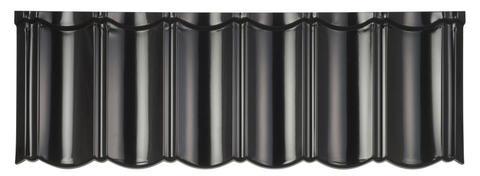 Isola Powertekk Exclusive Dachplatte 1198x418 mm Schwarz