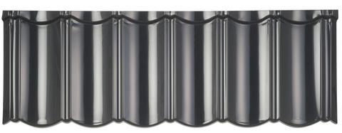 Isola Powertekk Silence Dachplatte lackiert 1198x418 mm Anthrazit