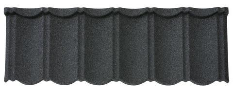 Isola Powertekk Nordic Dachplatte granuliert 1198x418 mm Schwarz