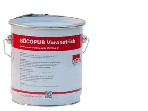 Börner BÖCOPUR 1-komponentig 4,0 kg einkomponentige Flüssigabdichtung Silber