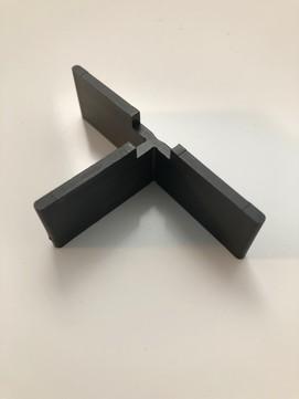 KALA Fugenkreuz 3mm 3-flüglig Schwarz