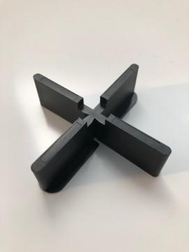 KALA Fugenkreuz 4mm 4-flüglig Schwarz