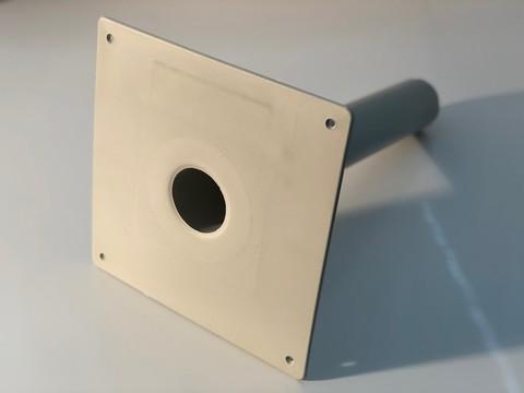 KALA Notüberlauf PVC 490mm DN 70 Durchmesser 75mm