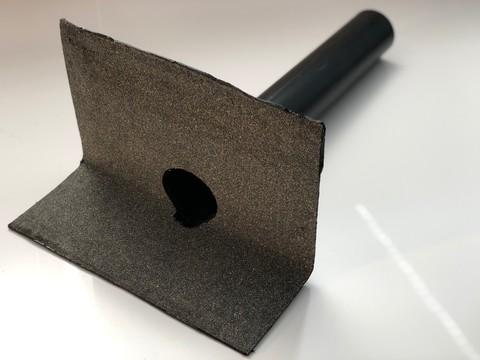 KALA Speier BIT DN 75 mit Bitumenanschluss 75mm, Flansch 33x33mm