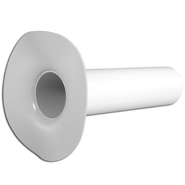 b/s/t Notüberlauf DN50 Rohrlänge 300mm ohne Grundplatte PVC
