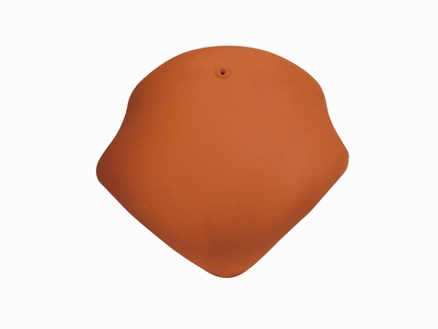Wienerberger Walmkappe universal 3-achsig Nr. 15 Eisenberg Rot engobiert