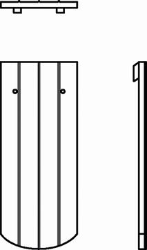 KOR Biber Ss.B.ganz 15,5x38x1,2ROTE