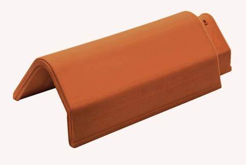 Wienerberger Pultdachfirst 2,5 Stück/m Lantenne Braun durchgefärbt