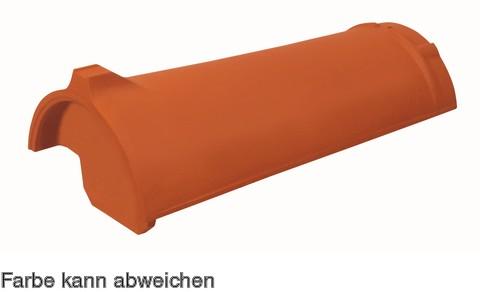 Wienerberger Firstanfang Nr. 20 Eisenberg Platingrau edelengobiert