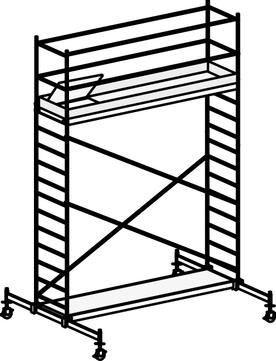 Hymer Fahrgerüst 6071/05 mit Fahrtraverse