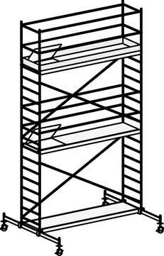 Hymer Fahrgerüst 6071/06 mit Fahrtraverse