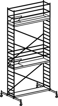Hymer Fahrgerüst 6071/07 mit Fahrtraverse