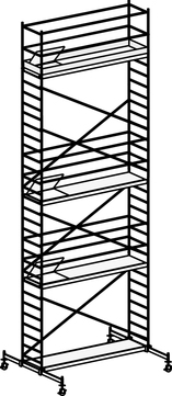 Hymer Fahrgerüst 6071/09 mit Fahrtraverse