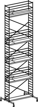 Hymer Fahrgerüst 6071/11 mit Fahrtraverse