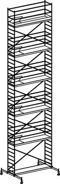 Hymer Fahrgerüst 6071/12 mit Fahrtraverse