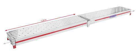 Hymer Aludiele Telesteg 4,00m Aluminium