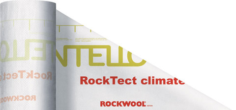 Rockwool Hochbau RockTect INTELLO Climate Plus 1,5x50m Dampfbremse variabel SD 0,25-25m