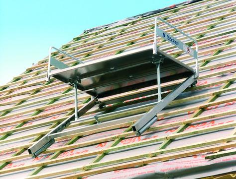 Böcker Dachziegelverteiler DZV-400 lang 400 kg Verlängertes Unterteil