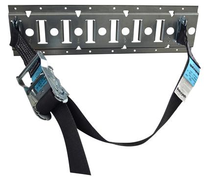 Dolezych Gasflaschen-Transportsicherung geeignet für alle Gasflaschen inkl. Schiene