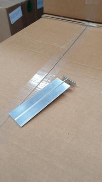 DWS Pohl Dachrand SBK 100 Stoßverbinder Aluminium