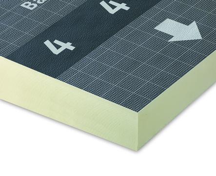 Bauder PIR FA Gefälle 130/155mm 1200x1200mm 2.0% Nr.5 2 Platten im Paket WLS 023