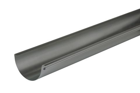 NedZink 6-teilige Dachrinne halbrund 0,70 mm 5,0 m Nova Titanzink vorbewittert