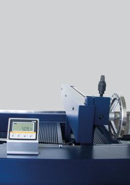 Schröder Hinteranschlag für Hinteranschlag 750 mm manuell von vorn bedienbar verstellbar mit Digital Anzeige