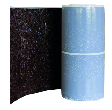 CREATON Wand-/Kaminanschlussband 300mm Alu beschichtet 5m je Rolle Braun