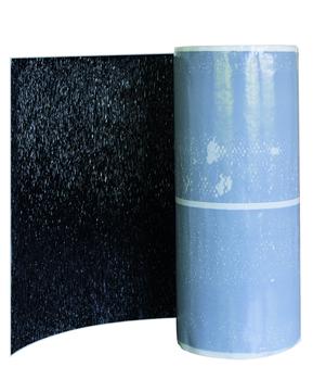 CREATON Wand-/Kaminanschlussband 300mm Alu beschichtet 5m je Rolle Schwarz
