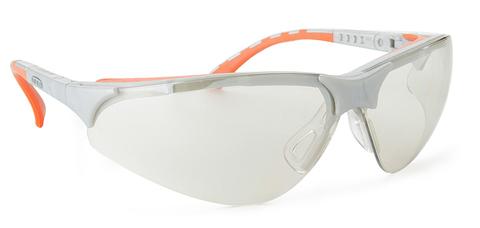 Intra Brille Terminator Outdoor Plus Gestell silber/orange Goldmirror