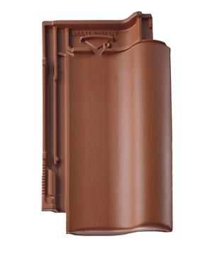 Braas Rubin 15V ganz matt Kupferrot engobiert