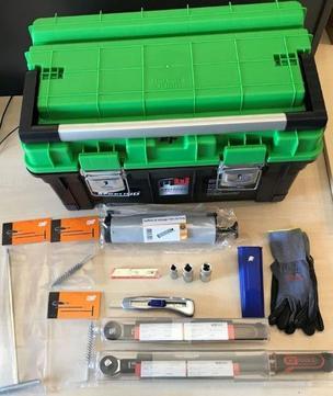 DEG 12-teiliges Werkzeugset für Sekurantenmontage im Koffer komplett