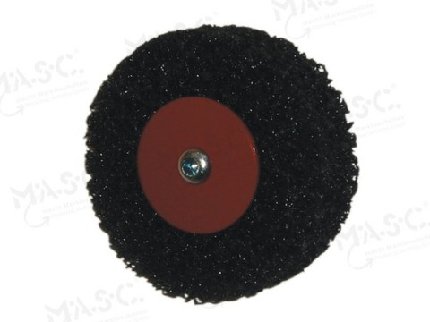 Masc Blechputzteufel 100x12 mm mit Aufnahmedorn inkl. 3 Putzscheiben