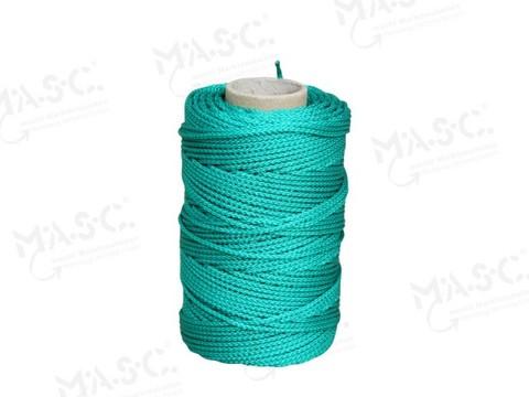 Masc Rinnenschnur mit Einlage 1,5 mm 75 m Grün