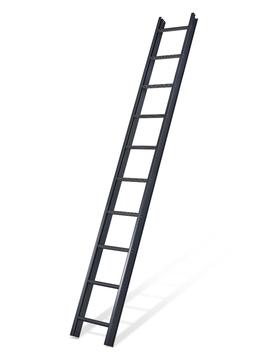 Mauderer Dachdecker-Auflegeleiter 7 Sprossen Länge 1,96 m Bavaria Anthrazit