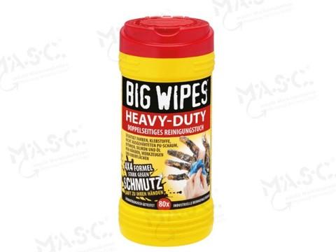 Masc Big Wipes van Pack 2 Dosen á 80 Tücher inkl. Wandhalter