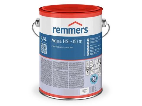 Remmers Aqua HSL-35/M Profi 20 l Holzschutzlasur 3 in 1 Weiß