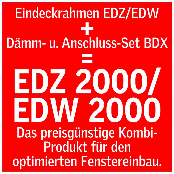 VELUX EDZ 2000 Eindeckrahmen für Dachfenster Dämm-/& Anschlussset BDX