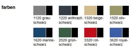 Intra Strickjacke Christoph Gr. XL Strickfleece Anthrazitschwarz