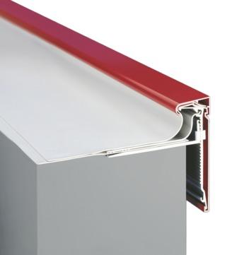 alwitra Dachrand TAG250 Außenecke mit Zulage incl. Zubehör Aluminium