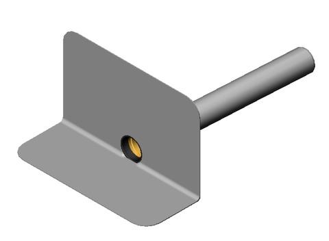 SITA Anschlussrohr mit Dichtring DN100 mm für Attikagully, 500 mm lang PP