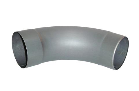 Umicore 8-teiliger Fallrohrbogen 72 Grad 80 mm mit Einzug Zink Quartz vorbewittert