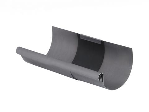 Umicore 6-teilige Rinnendila halbrund 0,70/333 mm Titanzink Quartz vorbewittert