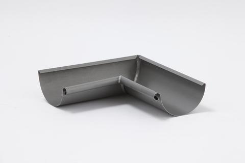 Umicore 6-teilig Rinneninnenwinkel halbrund 0,70/333 mm gelötet 90° Zink Quartz vorbewittert