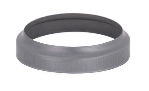 Umicore 6-teilige Standrohrkappe 100/116 mm Titanzink Quartz vorbewittert