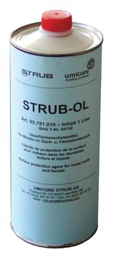 Umicore Fassadenöl Strub Öl 1,00 l Farblos