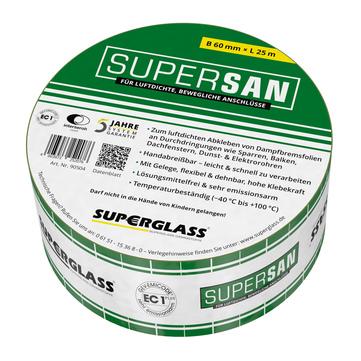 Superglass Supersan Klebeband 60 mm 25 m Grün