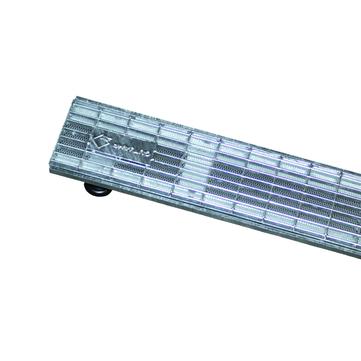 GUTJAHR TerraMaxx Gitterrost verzinkt, Drainrost 10x100 cm AquaDrain Feuerverzinkt