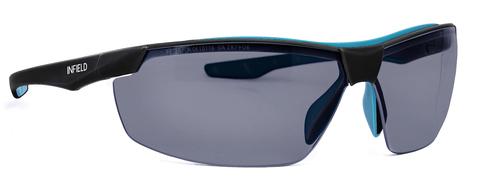 Intra Brille Flexor Plus Outdoor 9023-625 Gestell schwarz/türkis Grau